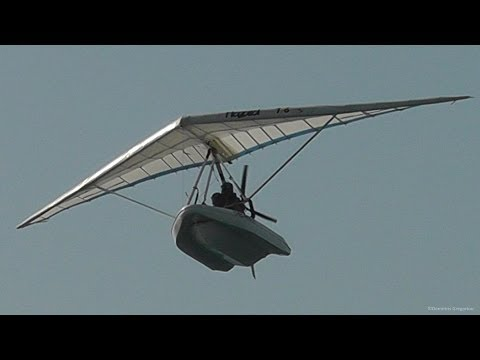 Amphibious Ultralight-Flying Boat| Startup, Takeoff, Flybys and Landing! Ramphos 582