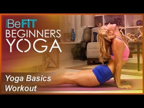 Yoga Basics Workout | Level 1: BeFiT Beginners Yoga- Kino MacGregor