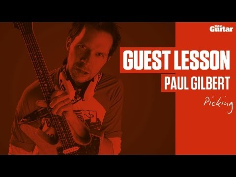 Paul Gilbert Guest Lesson - Picking (TG236)
