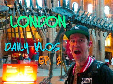 Kinging-It London - Daily Vlog Ep. 2: The Natural History Museum | Star Wars | The Science Museum