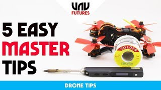 LEARN HOW TO SOLDER IN 10 MINUTES! EASY BEGINNERS GUIDE for drones