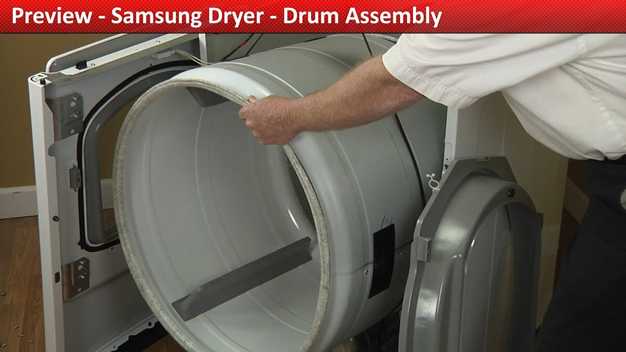 Drum Assembly Dv422ewhdwr Samsung Dryer Youtube Queen Electric Diagnostic Chart Amana Speed