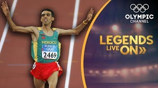 Hicham El Guerrouj continues the run to inspire his native Morocco   Legends Live On