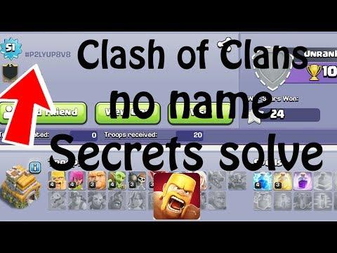 (HINDI) Clash Of Clans No Name Secrets Solve