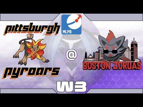 MLPB Season 4 Week 3 - Pittsburgh Pyroars vs. Boston Zoruas