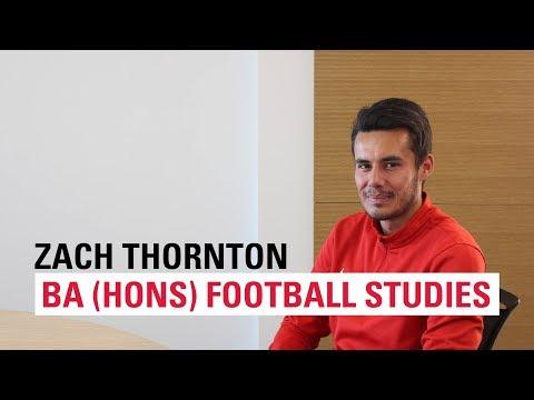 Meet Zach, BA (Hons) Football Studies