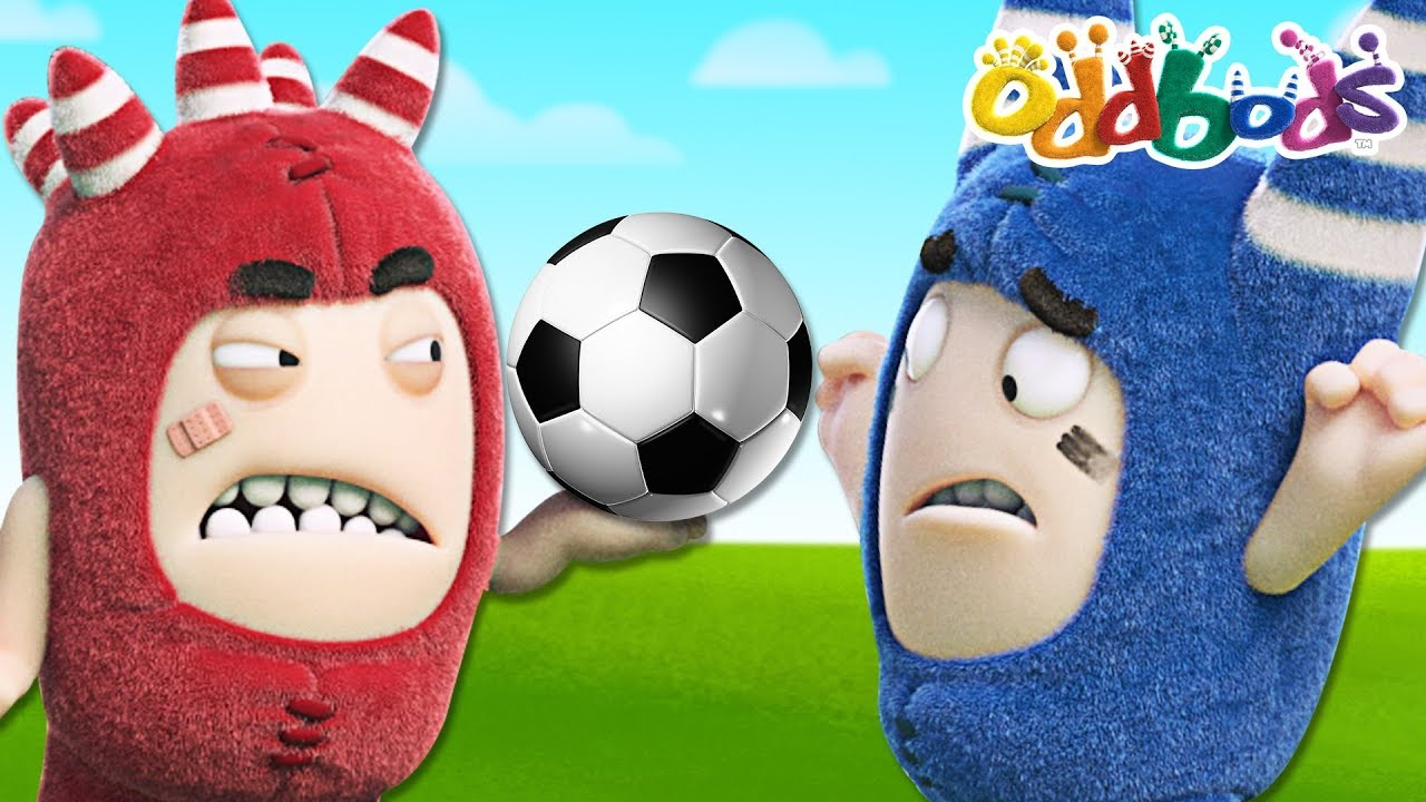 FOOTBALL FANATIC | NEW Full Episodes | The Oddbods Show
