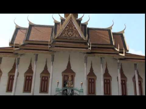 Phượt Phnom-Penh : Hoàng cung đẹp lộng lẩy !