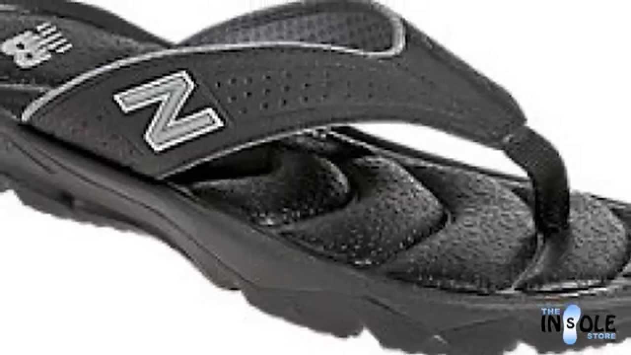 ea0d2bdbb5 New Balance Black Rev PlusH20 Sandals for Men @TheInsoleStore.com - YouTube