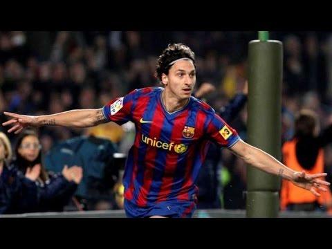 Hasil gambar untuk zlatan ibrahimovic barcelona