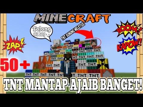WOW! 50+ TNT BARU  YANG HARUS KAMU LEDAKAN! - Minecraft Experiment #15