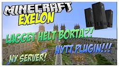 Minecraft Exelon - LAGGET BORTA!! NYTT PLUGIN! PVPn? - Informations Video
