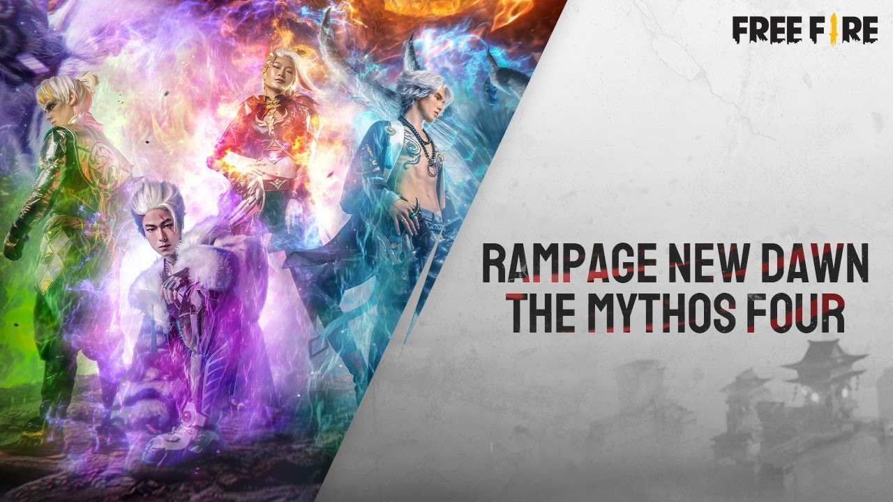 Rampage New Dawn - The Mythos Four | Garena Free Fire