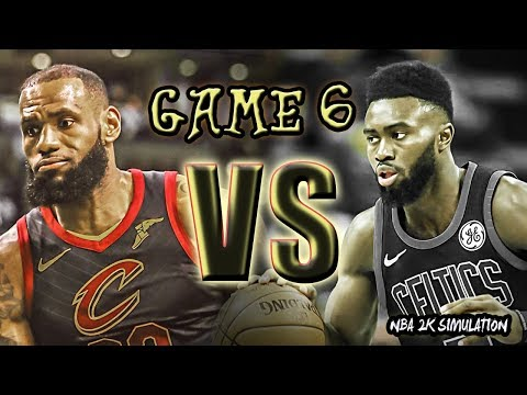 Boston Celtics vs Cleveland Cavaliers - FULL GAME   Game 6   May 25   FINALS CONFERENCE   NBA 2K18