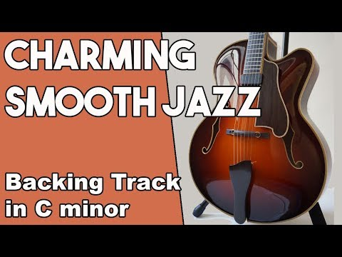 Charming Smooth Jazz Backing Track In Cm