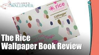 Review Of The Rice Wallpaper book(Produced by http://Lelands.org: On this episode Kathy Leland reviews the Rice Wallpaper Book by Eijffinger. Lelands Wallpaper was one of the first wallpaper ..., 2016-07-15T21:09:06.000Z)