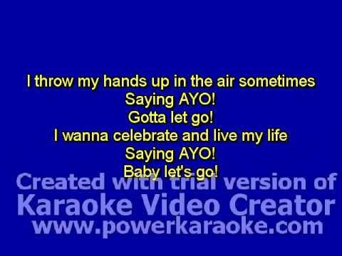 Taio Cruz - Dynamite Karaoke