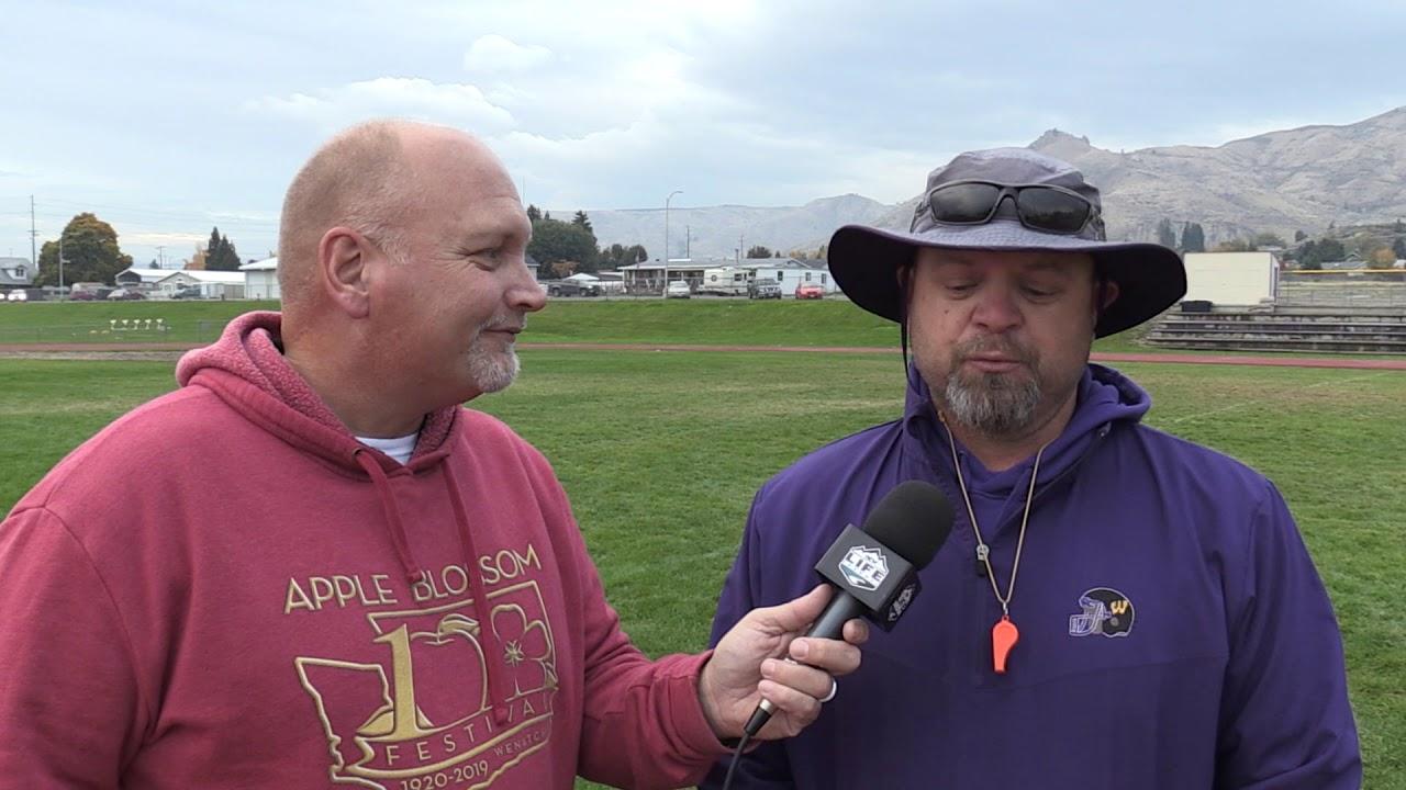 Wenatchee Coach Dave Jagla on Oh Line 2019-10-17