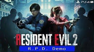 RESIDENT EVIL 2 R.P.D. Demo   Full Gameplay