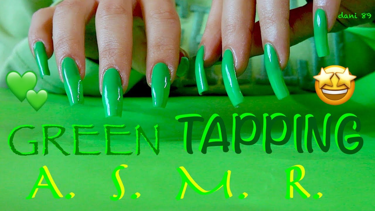 Tapping Soft Scratching Everything Green Intense Asmr Ear To Ear