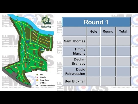 The Disc Golf UK Midlands One Day Series #2 Quarry Park - Round 1 Front 9