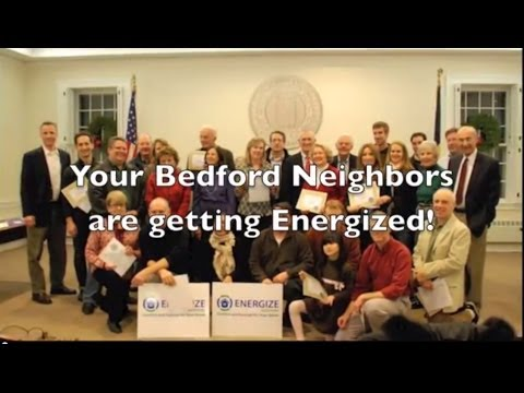 Bedford homeowners discuss the Energize Bedford program.