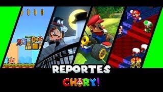 Mario kart tour, Mario Rpg, Super mario Odyssey, Paper mario,  y mas!  Reportes Chury Juegos Android
