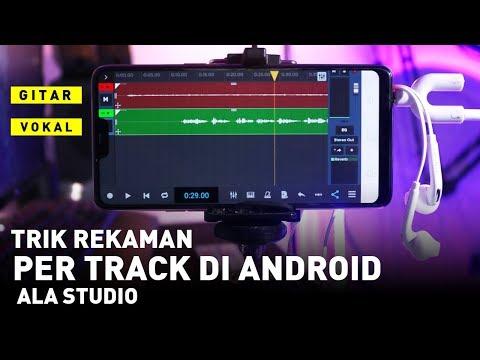 Cara Merekam Lagu Per Track Di HP Android Hasil Jernih | Ntrack Studio Mobile