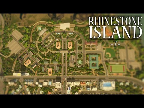 "Cities Skylines - Rhinestone Island [PART 7] ""Buses, Metros, and Trains!"""