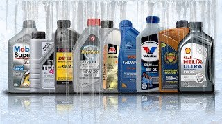 Olej 5W30 C4 Test Zimna -30°C Valvoline, Shell, Aral, Liqui Moly, Millers Oils, Mobil