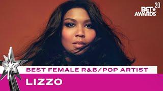 Lizzo Wins Best Female R&B/Pop Artist Award! | BET Awards 20