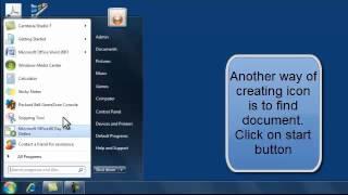 Create Desktop Shortcut Computer Lesson