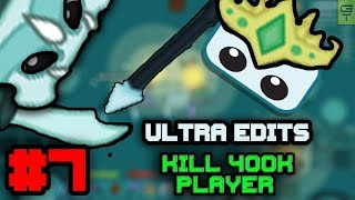 STARVE.IO - ULTRA EDIT VIDEOS #7 // KILLING AFK 400K PLAYER!
