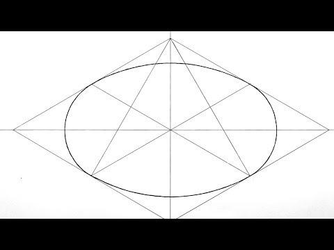 Как рисовать эллипс циркулем