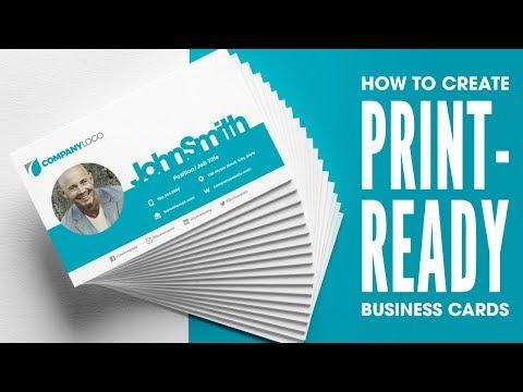 GIMP Tutorial: Business Card Design