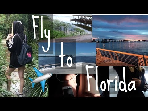 Ich fliege alleine nach Florida für 4 Wochen :O