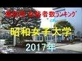 昭和女子大学 高校別合格者数ランキング 2017年【グラフでわかる】