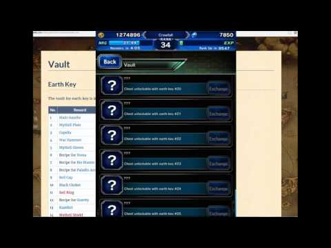 Final Fantasy Brave Exvius ALL Earth key locations and rewards