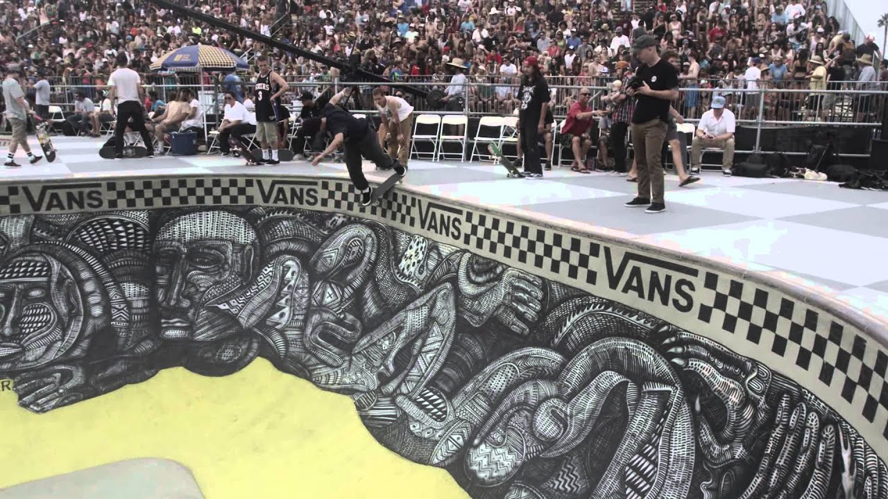 b6b8330b53 2015 Vans US Open of Surfing - Van Doren Invitational Skate Teaser ...