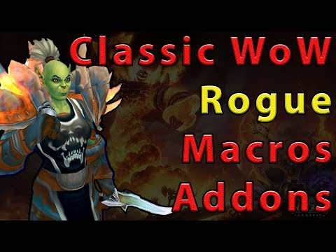 Rogue Addons And Macros Classic WoW