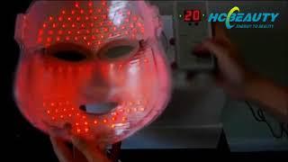 7 colors skin rejuvenation led mask FM8