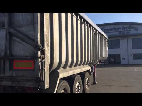 PPG Stepframe Ribsided Tipping Trailer For Sale Newton Trailers Limited