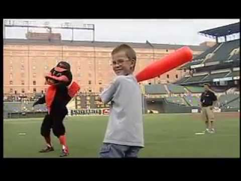 Oriole Bird Mascot Hall of Fame Video
