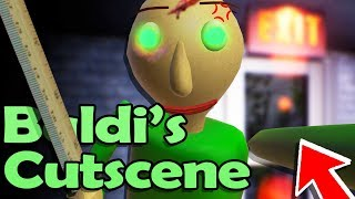 new baldi ending cutscene but its not over? baldis basics in education and learning remastered