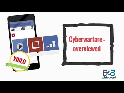 Cyberwarfare - overviewed
