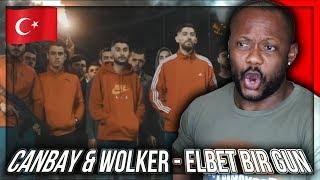 Canbay & Wolker - Elbet Bir Gün (Official Video) TURKISH RAP MUSIC REACTION!!!