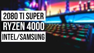 Про видеокарту-франкенштейна RTX 2080 Ti Super, Ryzen 4000 и партнерство Intel с Samsung и Mediatek