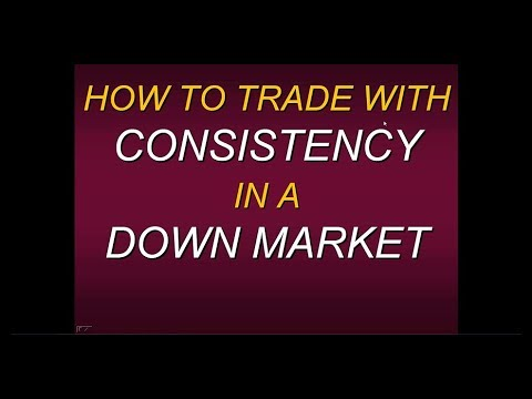 Steven Primo's  How To Trade With Consistency In A Down Market