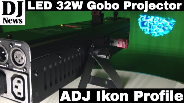 #AmericanDJ ADJ Ikon Profile 32W LED Gobo Projector | Disc Jockey News