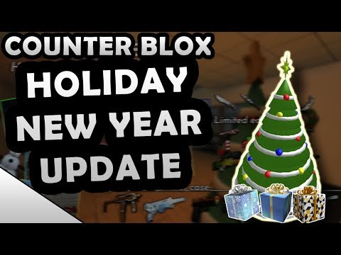 ROBLOX COUNTER BLOX HOLIDAY UPDATE